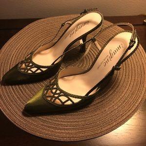 Vince Camuto slingback dress shoes